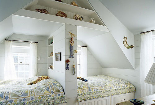小户型卧室双层床装修图片大全
