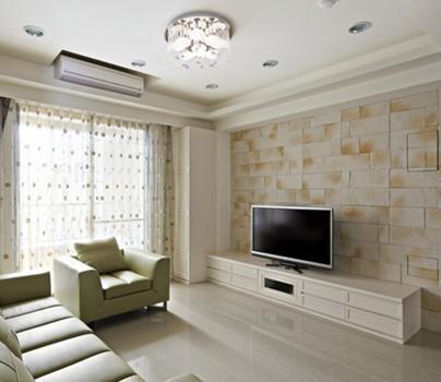 现代简约三房两厅 90平米小户型装修效果图