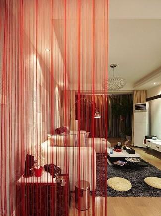 情趣红的现代简约美居80后婚房装修效果图_乐黑白小说用具男女图片