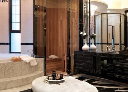 简约时尚欧式韵味风格 欧式卫浴装修效果图图片