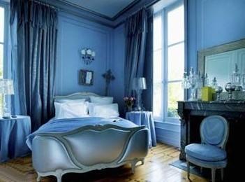 家装:卧室装修几款新风奥运图片墙大力v家装背景蓝色画画卧室图片