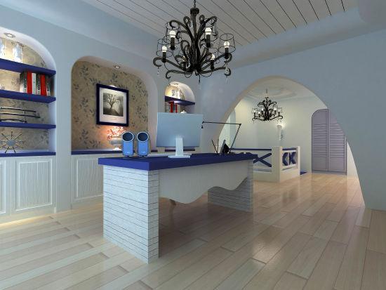 家居装饰:地中海风情 瑰丽大户型装修效果图