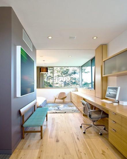 卧室,书房设计