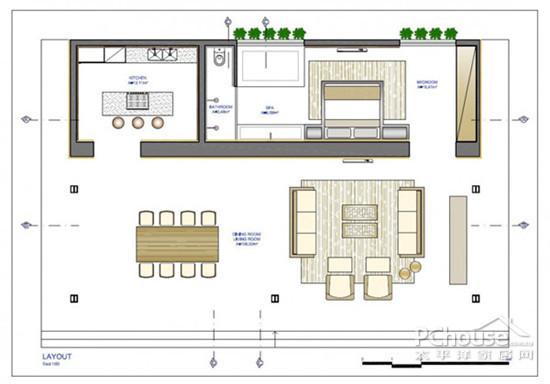 玻璃房屋顶棚设计图